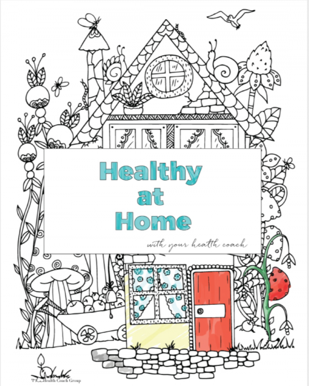 Cover page for Healthy at Home